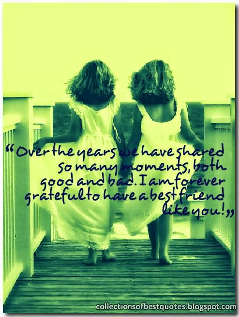 friendship over the years quotes