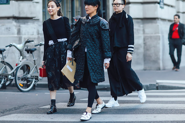 Street Style Paris Fashion Week SS16