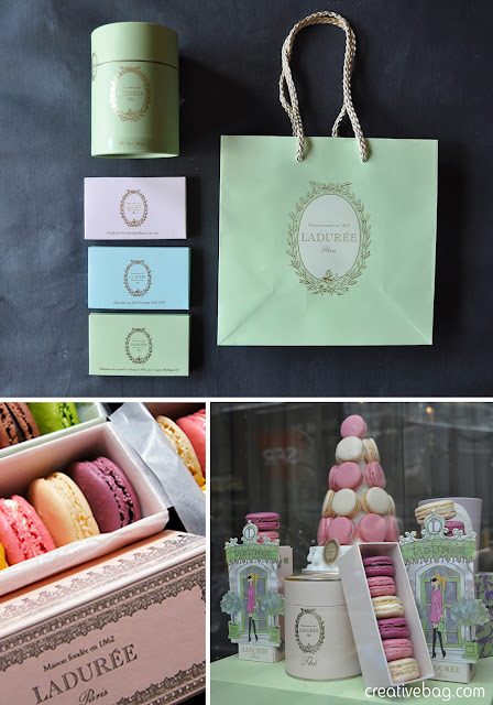 Laduree Paris - beautiful packaging inspiration