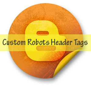 enable Custom robots header tags in blogger