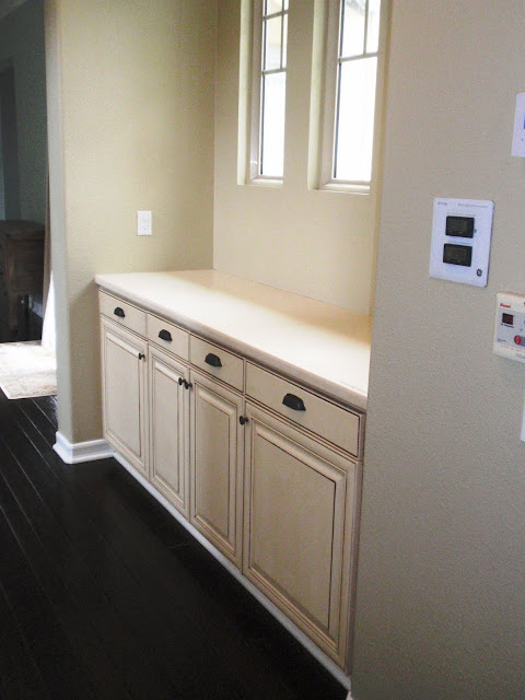Bdg style painting kitchen cabinets for Anderson kitchen cabinets
