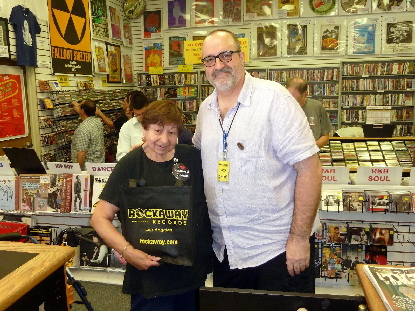 Arlenes Leonard Cohen Scrapbook My Fun Record Store Day In Los
