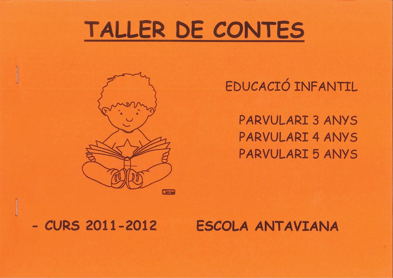 http://issuu.com/blocsdantaviana/docs/dossier_contes_2011-12