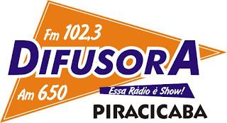 Rádio Difusora FM de Piracicaba ao vivo