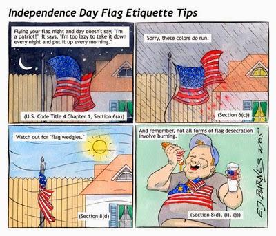 Flag Etiquette