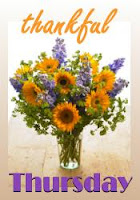 Thankful Thursdays hosted in September by Iris @ Grace Alone