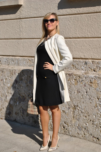 tubino nero manica a 3/4 outfit nero come abbinare il nero abbinamenti nero outfit autunnale elegante outfit autunnale bon ton come abbinare un tubino nero mariafelicia magno fashion blogger colorblock by felym fashion blog italiani fashion blogger italiane blogger italiane di moda tubino nero pimkie outfit ottobre 2015 fall elegant outfit black dress outfit how to wear black little dress how to combine black little dress black little dress outfit