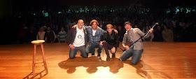 Junto com Zé Neves, Dani Duncan e Fernando Kadlu