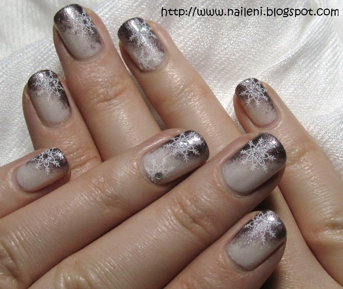 Weihnachtsnägel Bilder Galerie Winter Nageldesign Beautynails