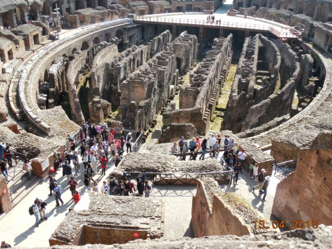 camerele gladiatorilor