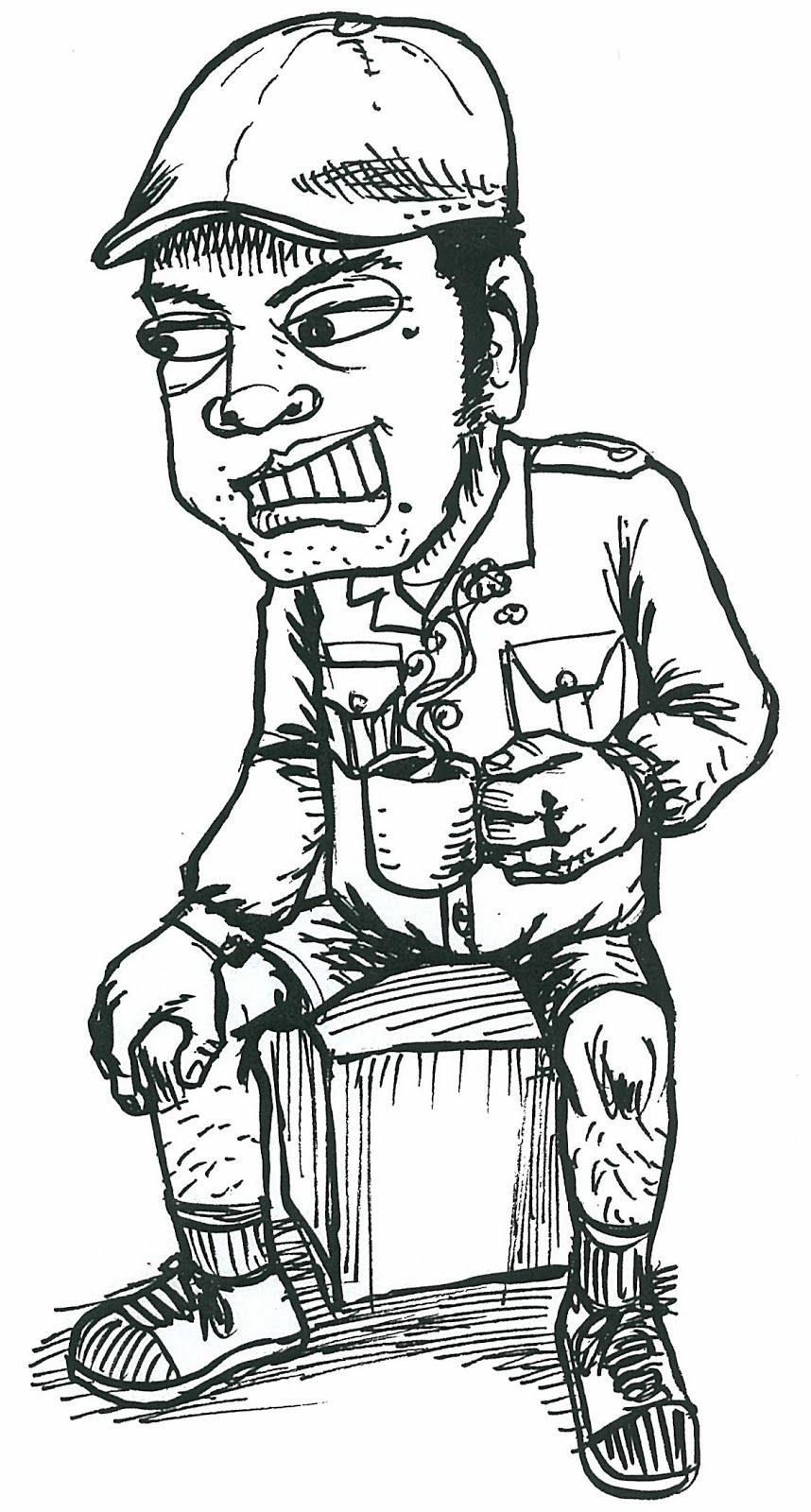 WAWAN KONDO STUDIO Karikatur Wawan Kondo By Mas Iwank Chaos
