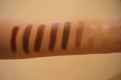 Colourpop Cosmetics Eyeshadow Swatches