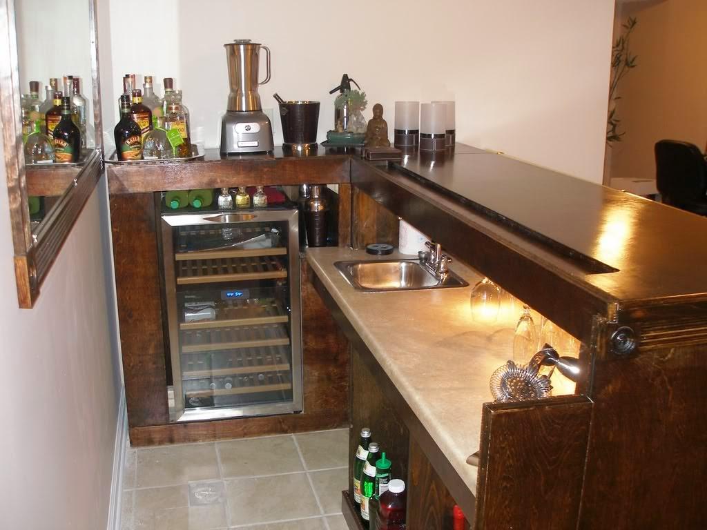 Home Bar Design Ideas simple