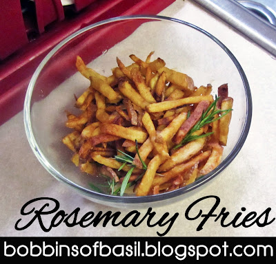 Rosemary Fries | Bobbins of Basil