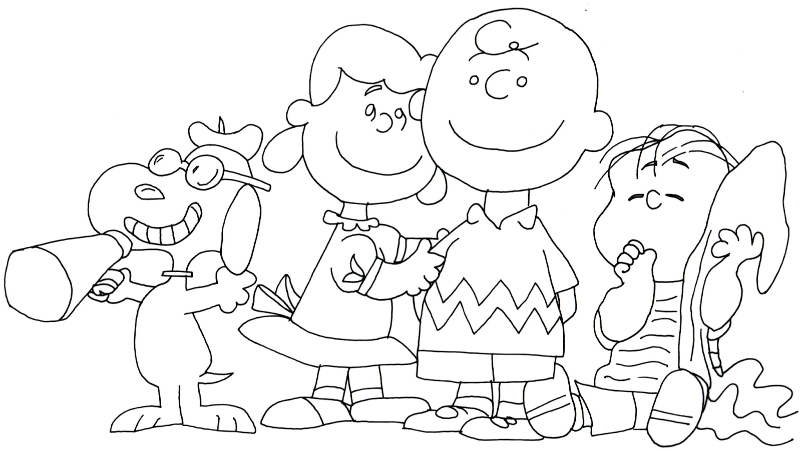 Exelent Charlie Brown And Lucy Coloring Pages Gift - Framing ...