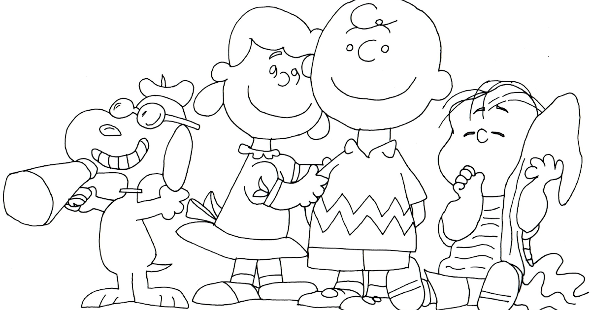 Free Charlie Brown Snoopy and Peanuts Coloring Pages: Snoopy Lucy ...