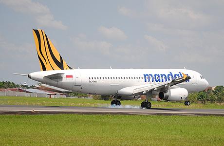 Mandala Airbus A320 PK-RMR