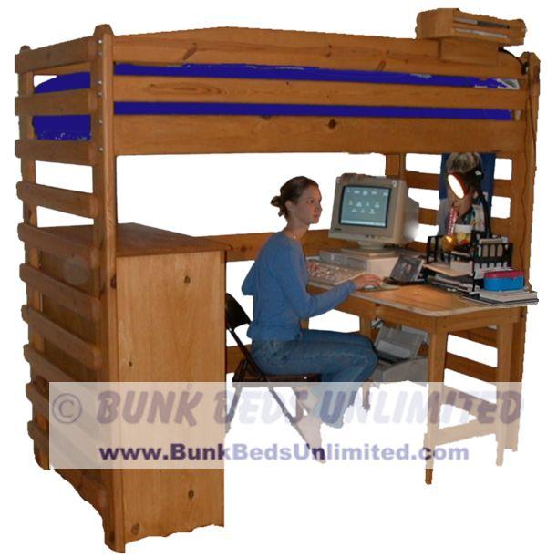loft bed plans xl twin – furnitureplans