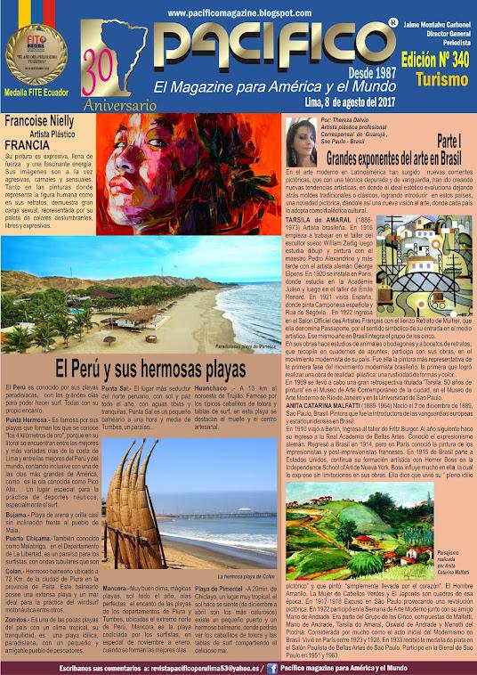 Revista Pacífico Nº 340 Turismo