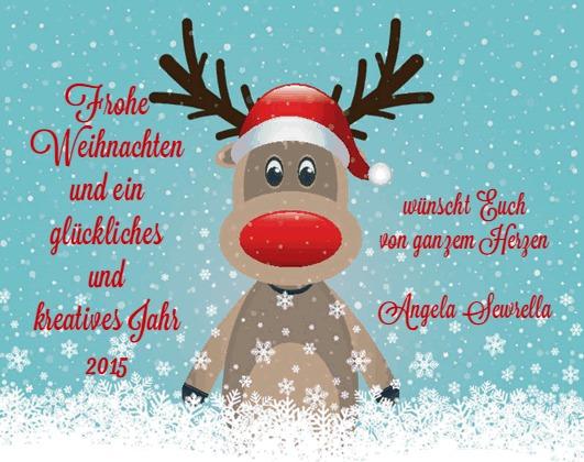 Frohe Weihnachten 2014 von Angela Sewrella