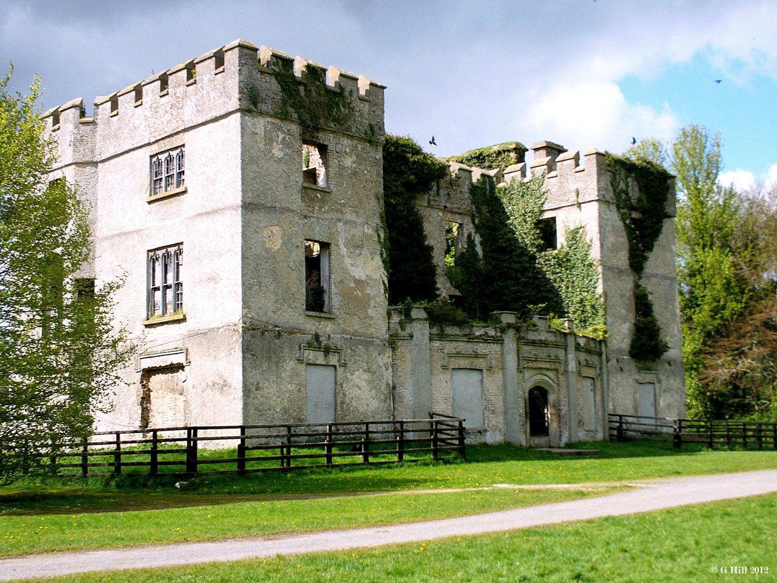 Ireland In Ruins Donadea Castle Co Kildare