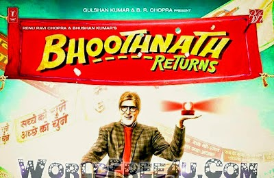 Poster Of Bollywood Movie Bhoothnath Returns (2014) 300MB Compressed Small Size Pc Movie Free Download worldfree4u.com