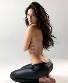 meagan fox tattoo, megan fox tattoos