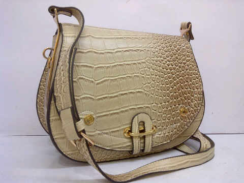 Tas Hermes Croco Super 5889 (White) YS380