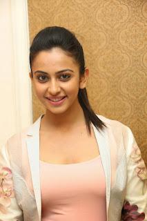 Actress Rakul Preet Singh PictureS IN Jeans at Rough Telugu Movie Audio Success Meet  30