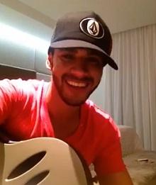 Lançamento inédito do cantor Gusttavo Lima