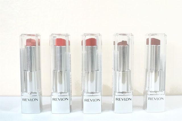 Revlon Ultra HD Lipsticks in Magnolia, Tulip, Gladiolus, Dahlia, Snapdragon