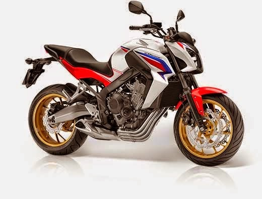 2014 Honda CB650F Three Color