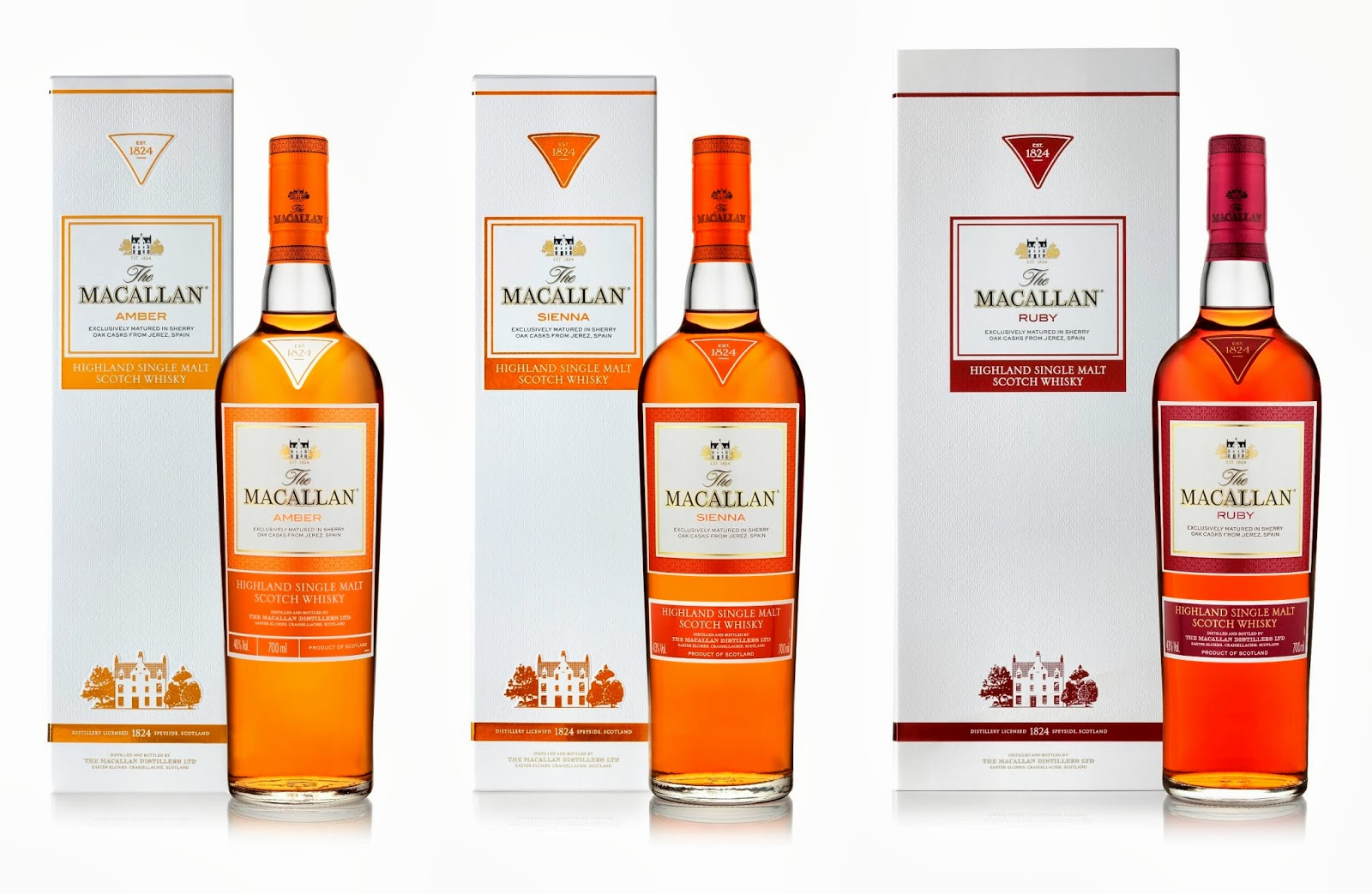 Macallan 1824 Series | Macallan | Single Malt | Whisky & Ginger