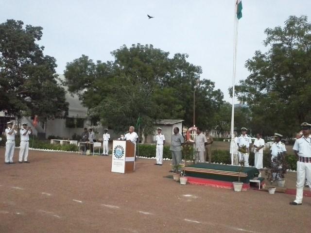 RSS Sarsanghachalak hoists National Flag at Madurai