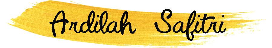 Ardilah Safitri Blog