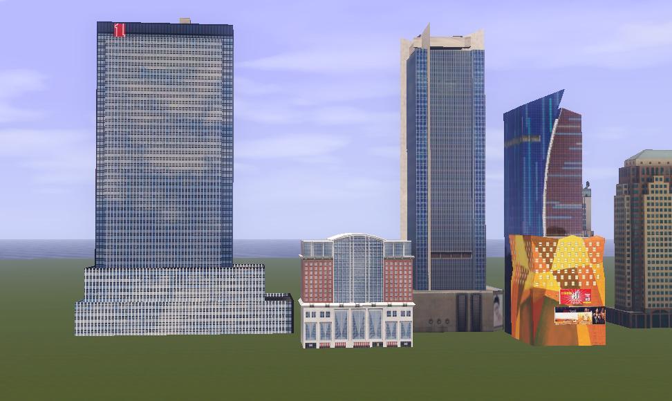 Sims  Deco Buildings