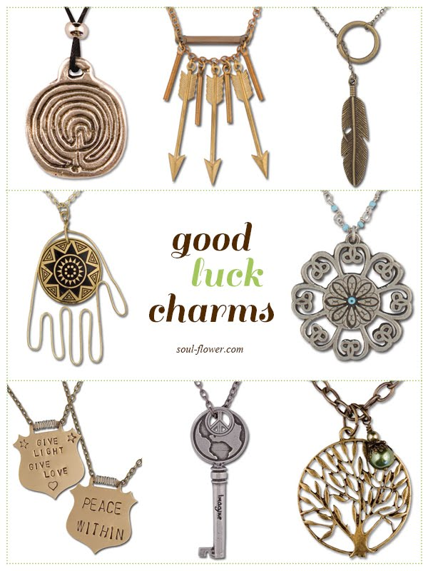 images of good luck charms