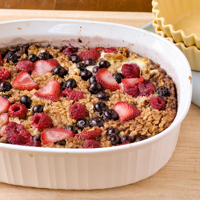 Good Thymes and Good Food: Fresh Fruit Baked Oatmeal
