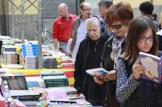 Feria, libros, lectores, rastro