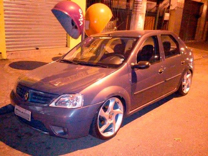 "Renault Logan Rebaixado aro 19"""