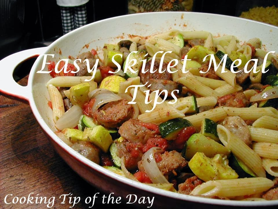 Easy Skillet Turkey Dinner Recipes — Dishmaps