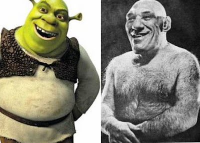 Shrek Maurice Tillet Sabias que, Curiosidades,