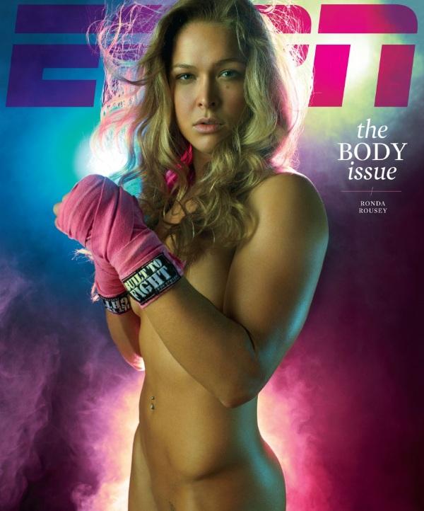 Fotos de Ronda Rousey en la revista de ESPN