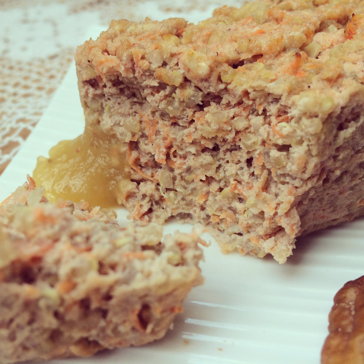 mini-cake carotte quinoa protéiné