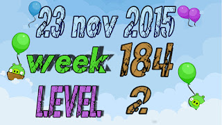 Angry Birds Friends Tournament level 2 Week 184