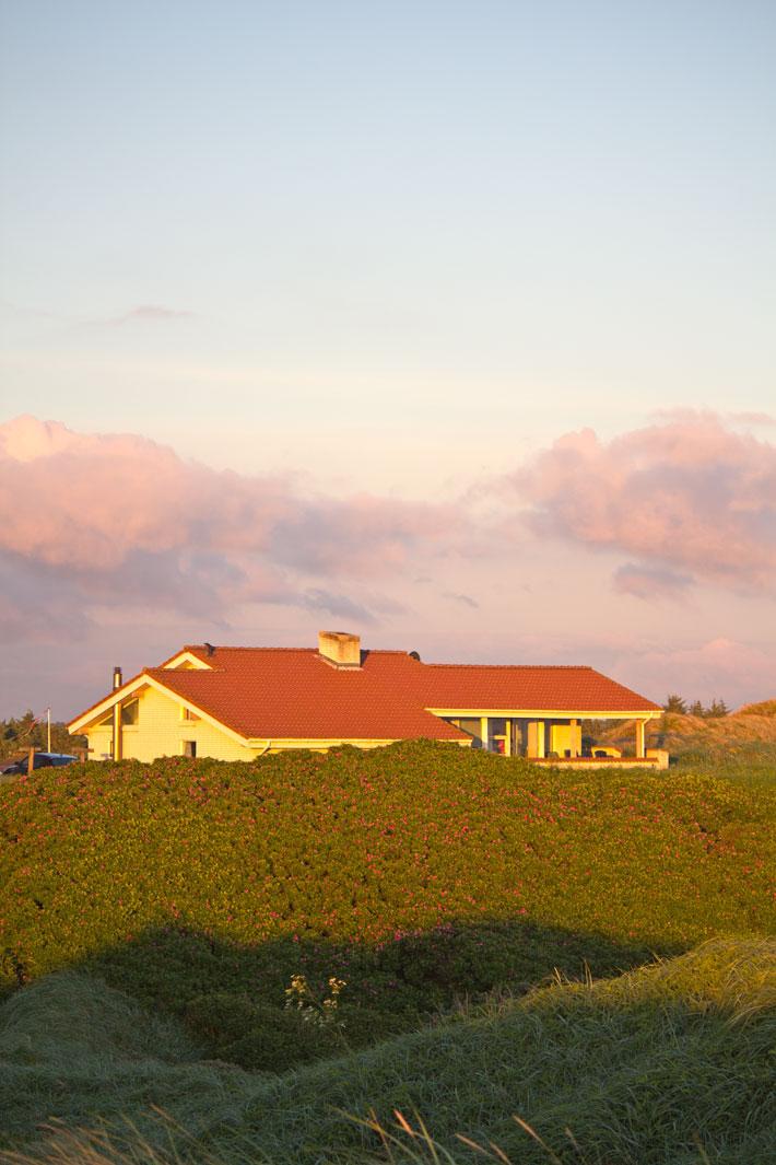 Amalie loves Denmark Ferienhaus im Sonnenuntergang