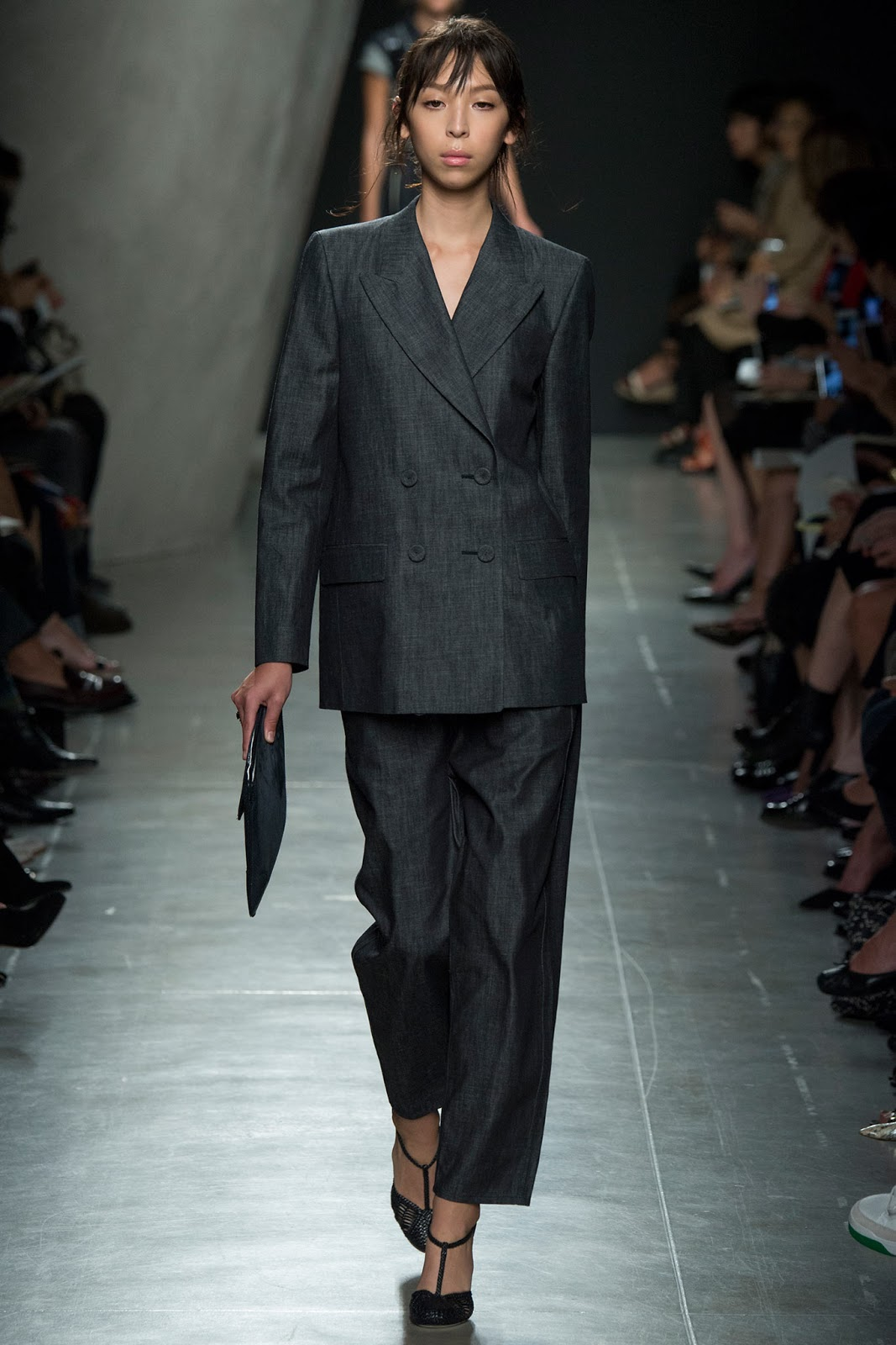Bottega Veneta / Spring/Summer 2015 trends / trouser suit / styling tips and outfit inspiration / via fashioned by love british fashion blog