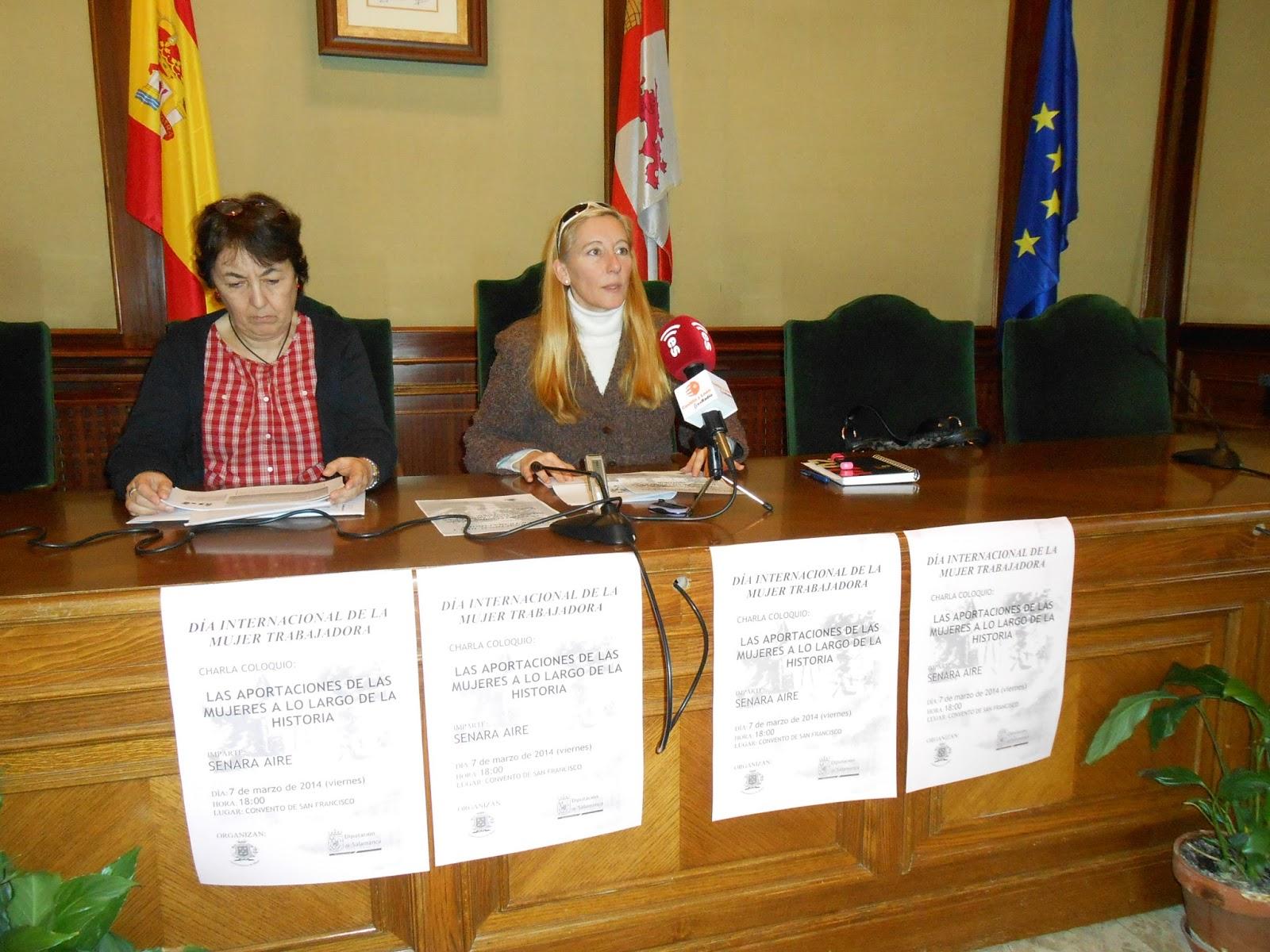 tecnica CEAS de la diputacion y concejal del ayuntamiento de béjar