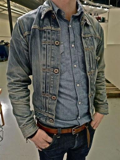 Trend Model Jaket Jeans Denim Pria Terbaru 2017/2018