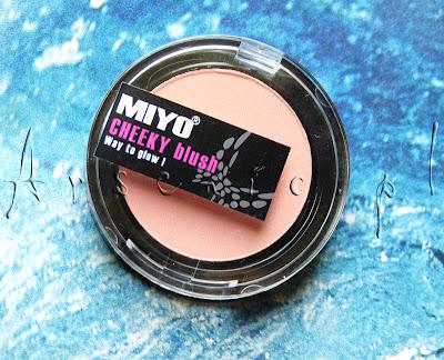 """MIYO brzmi jak """"miau"""", czyli rzecz o różu CHEEKY blush Way to glow!"""